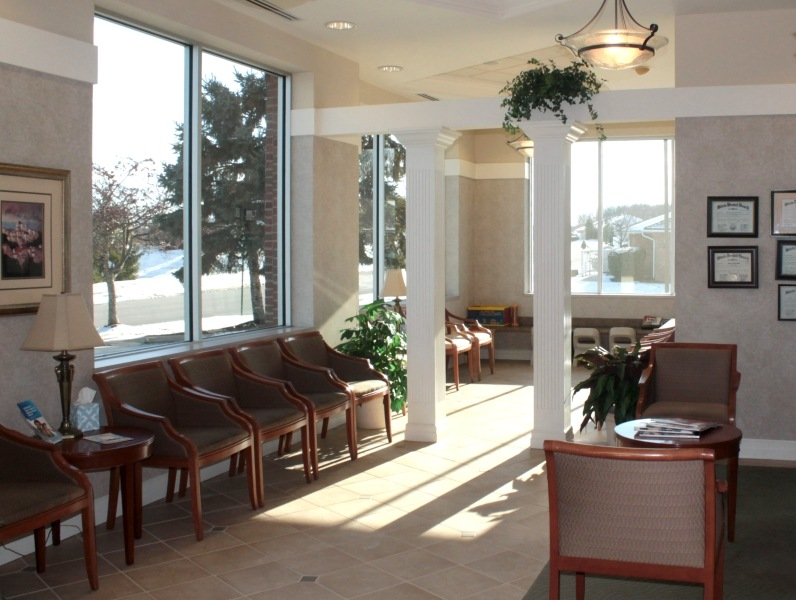 Darby Creek Dental waiting room