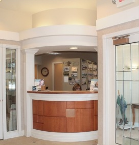 Darby Creek Dental front desk