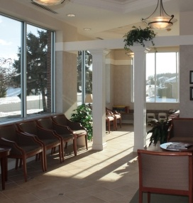 Marysville dental waiting room